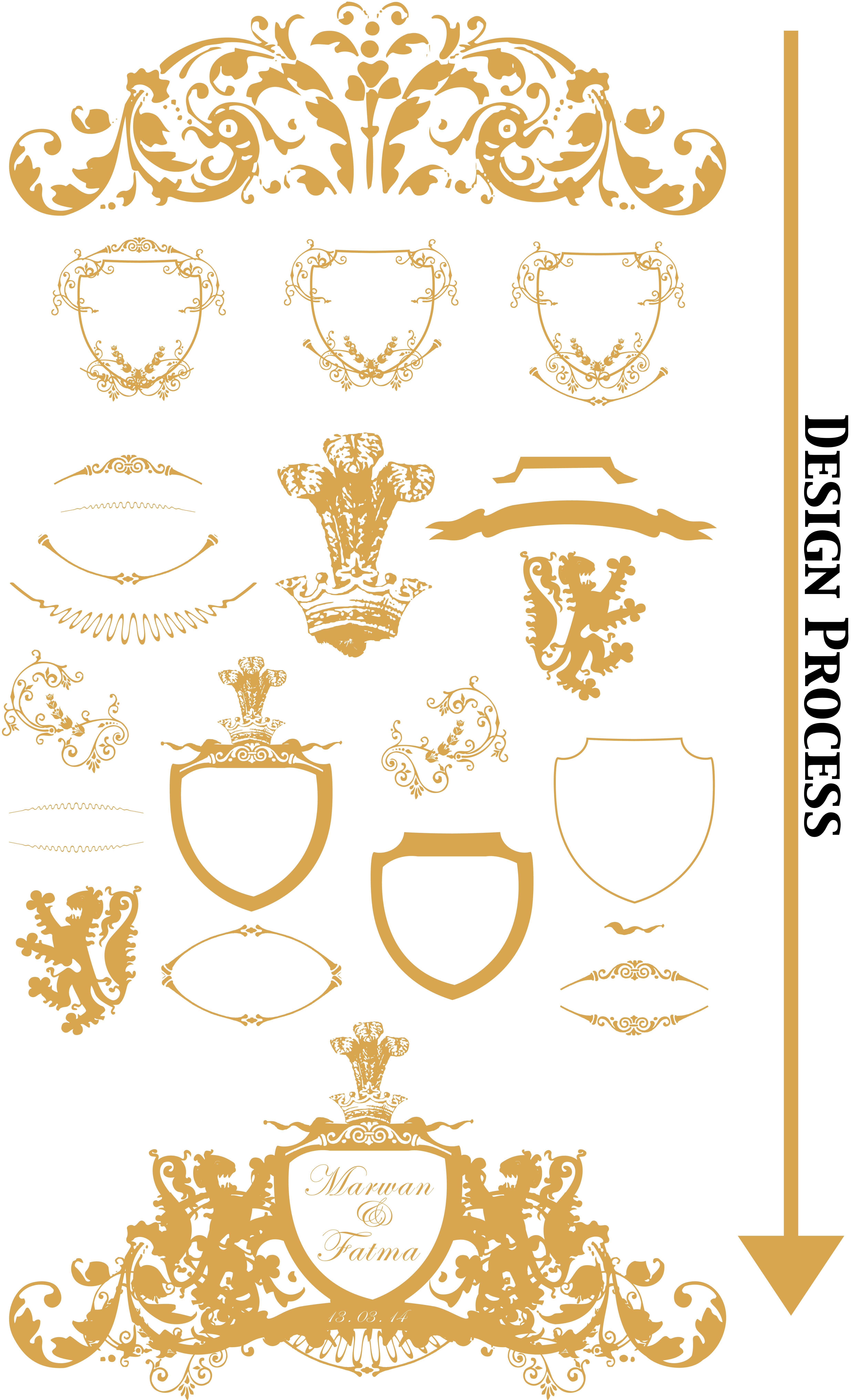 Wedding Logo Design Final MF Mf
